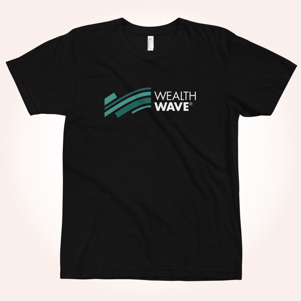 WealthWave Wave Logo Two Color T-Shirt