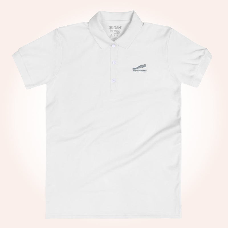 WealthWave Logo Women's Polo Shirt