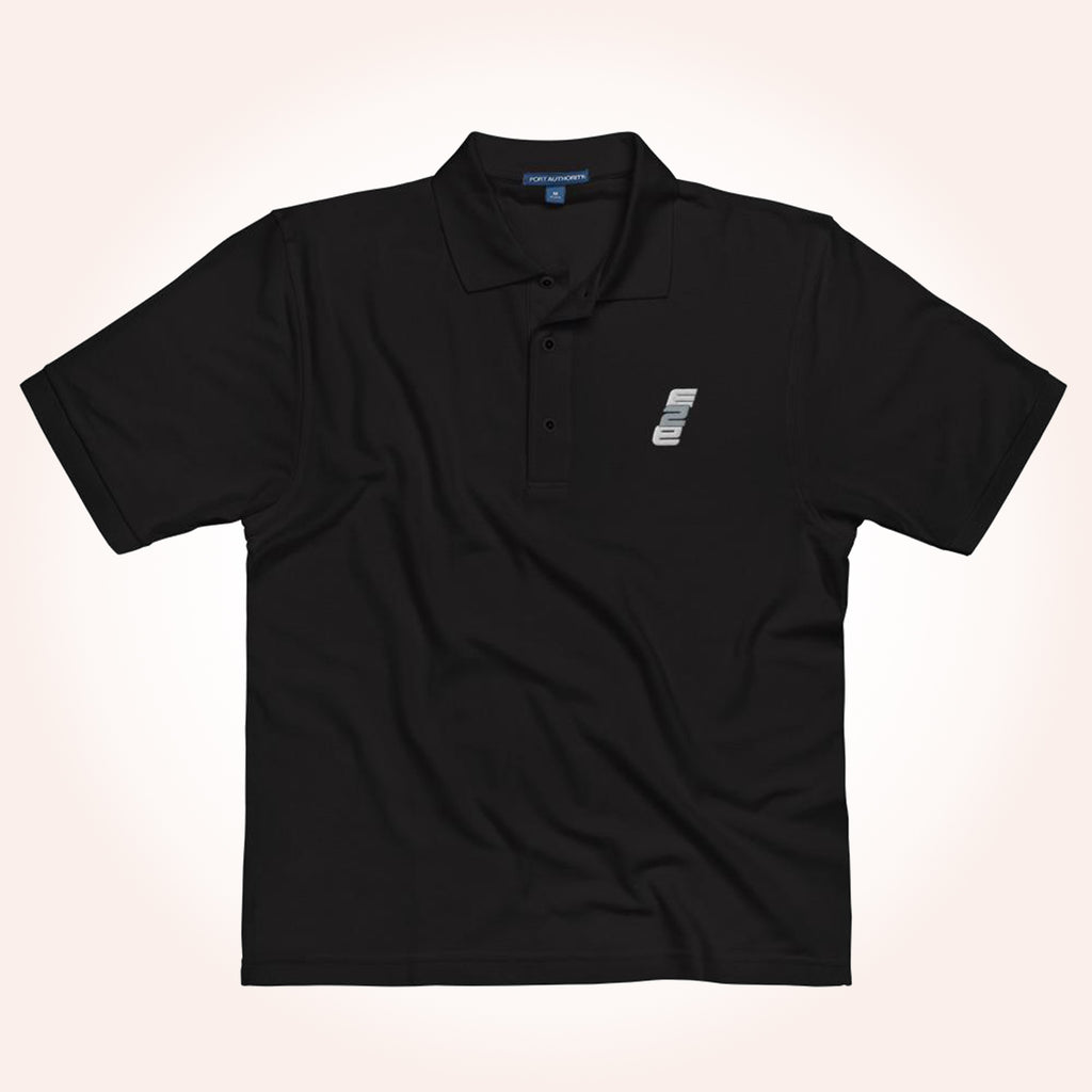 e2E Stacked Logo Men's Polo Shirt