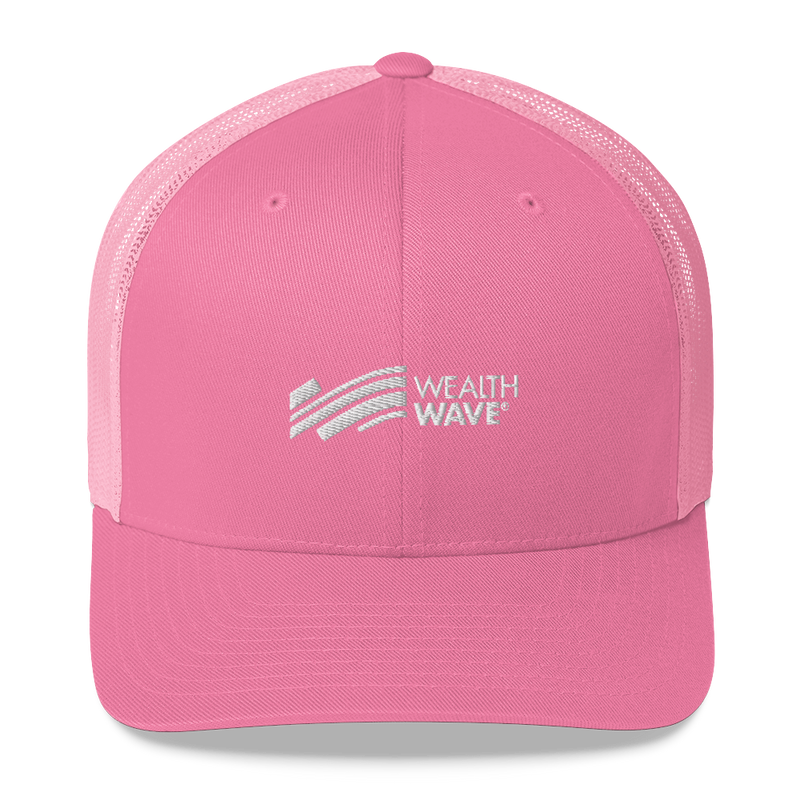 WealthWave Wave Logo Trucker Hat