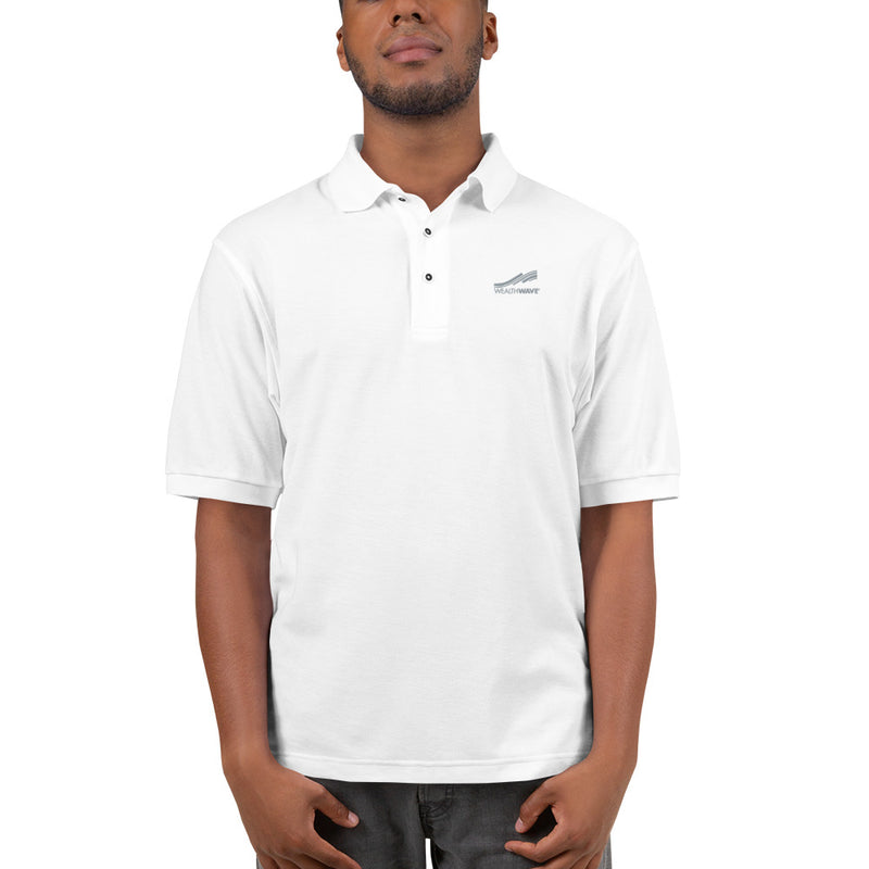 WealthWave Logo Men's Polo Shirt