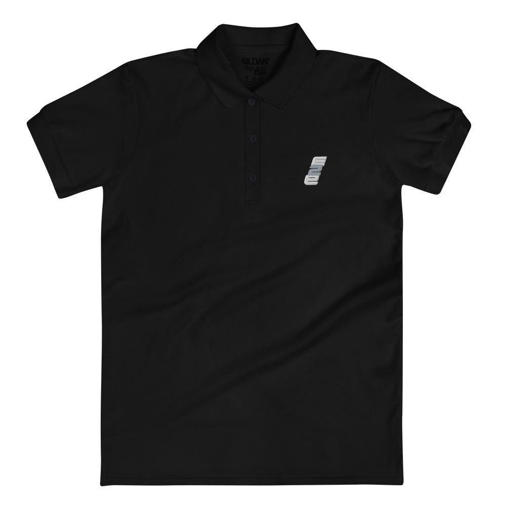 e2E Stacked Logo Women's Polo Shirt