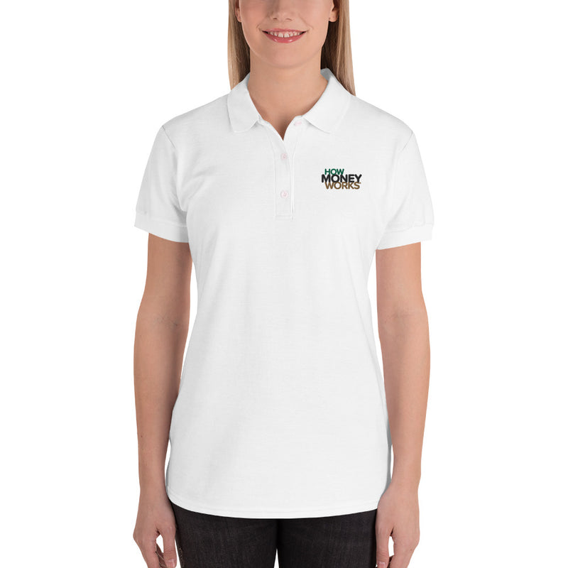 HowMoneyWorks Logo Women's Polo Shirt