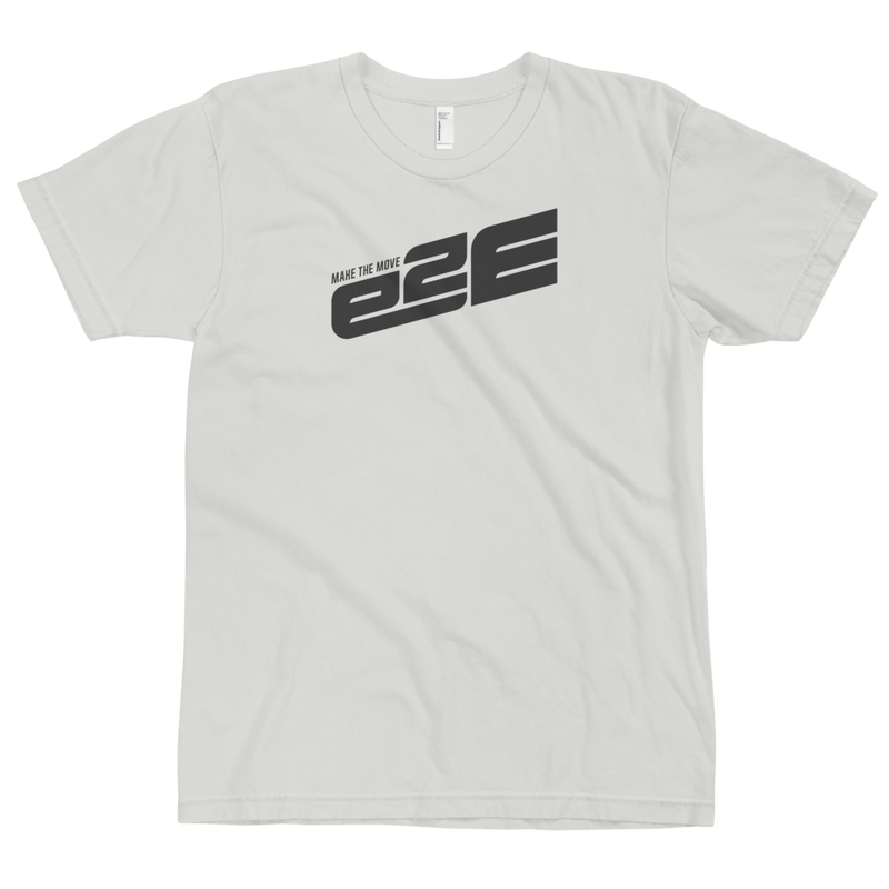 e2E Rise 1 Color White Logo T-Shirt