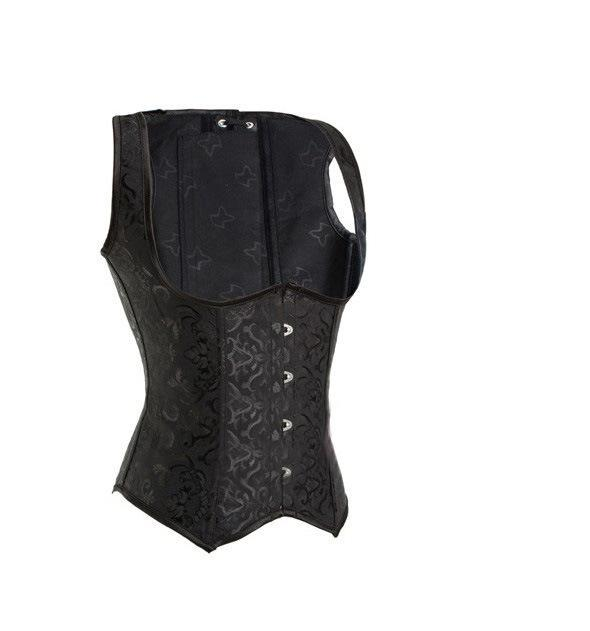 Steel bone support chest abdomen back posture posture vest corset