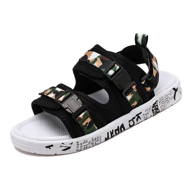 Summer Beach Shoe Men Sandals Fashion Gladiator Sandals Roman Men Casual Shoe Flip Flops High Quality Non-slip Outdoor Sandals
