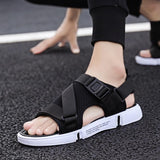 Free shipping Men Summer Outdoor Men's Flats Casual Beach Athletic Shoes Non-slip Sport Summer Quality Beach Sneakers Sandals