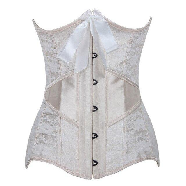 Free shipping girdle for women waist support corset underbust shaper underwear top slimming bustier corsets sexy bride abdomen with Steel bone