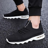 Exclusive Brand Men Casual Shoes Socks Style hombre Men Shoes Summer Men's Shoes Casual Men Sneakers White black