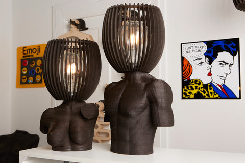 Sculpture Lamps from Scotch & Sofa.