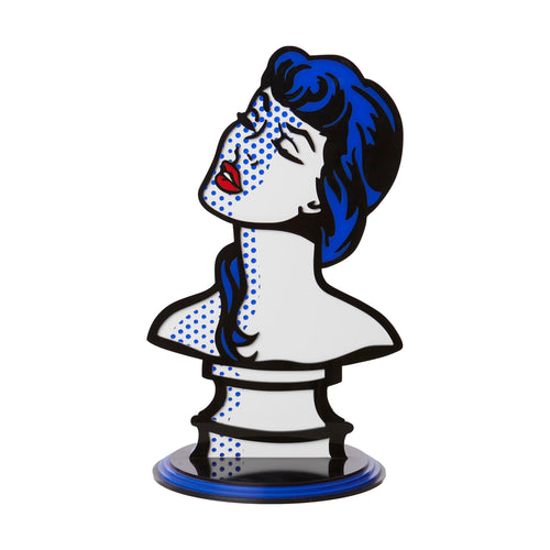 Blue Lady Sculpture from Scotch & Sofa.