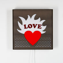 Load image into Gallery viewer, Mounted Love Sign Light from Scotch & Sofa.