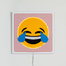 Load image into Gallery viewer, Neon Cry Emoji Pop Art from Scotch & Sofa.