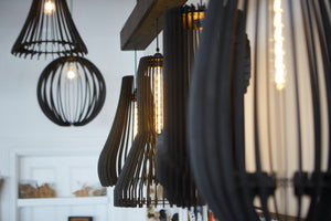 Hanging Pendant Lights from Scotch & Sofa by Mitch and the Machine.