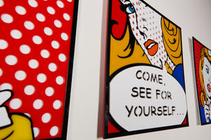 Come See For Yourself Pop Art from Scotch & Sofa.