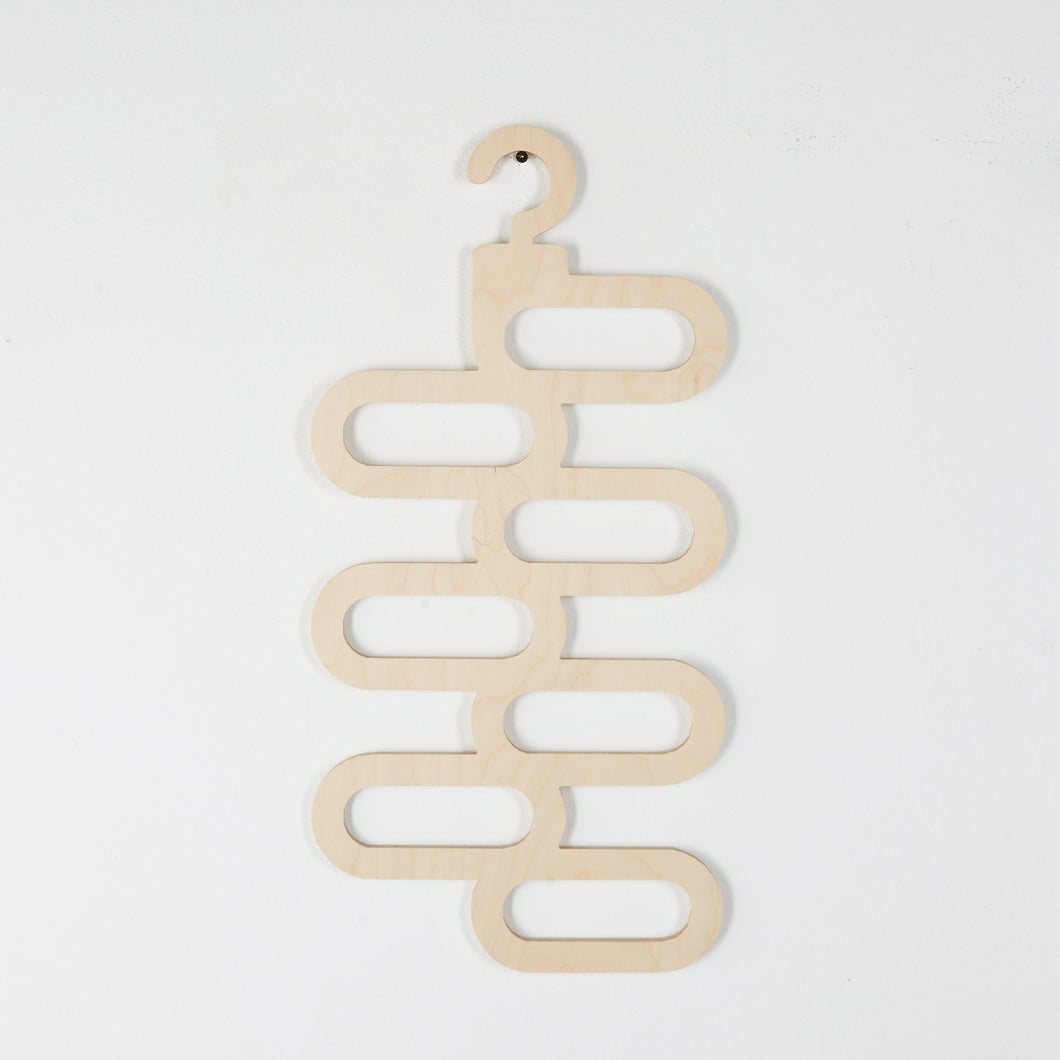 Scarf Hanger made from Birch Plywood.