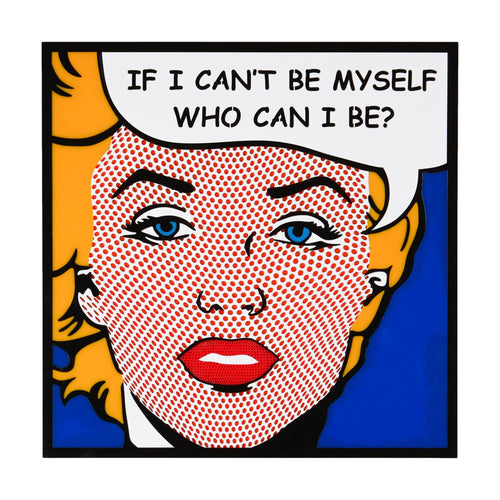 Be Myself Pop Art from the alternative home decoration and interior design shop Scotch & Sofa.