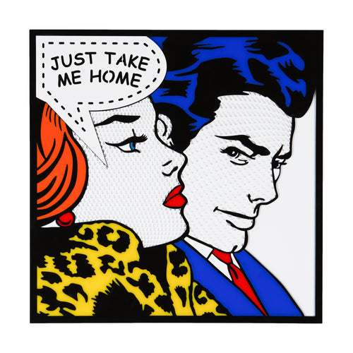 Take Me Home Pop Art from Scotch & Sofa.