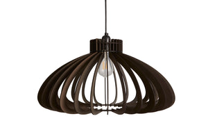 Stained Black UFO Pendant Light from Scotch & Sofa.
