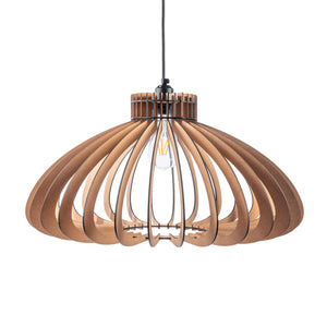 Natural UFO Pendant Light from Scotch & Sofa.