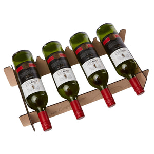 A completed wine rack of four bottles from Scotch & Sofa.