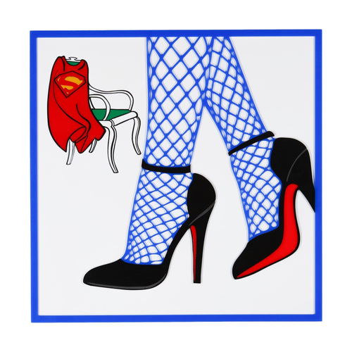 Supergirl Heels Pop Art from Scotch & Sofa.