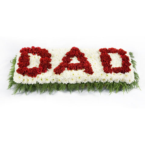 Dad Letter Wreath