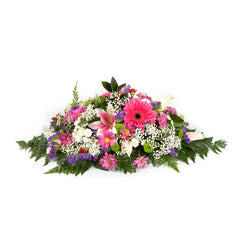Funeral spray Pinks