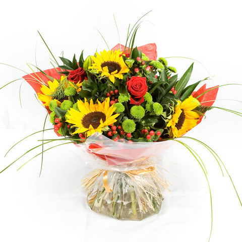 Sun Flower Handtied Bouquet