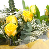 Yellow Rose Handtied Bouquet