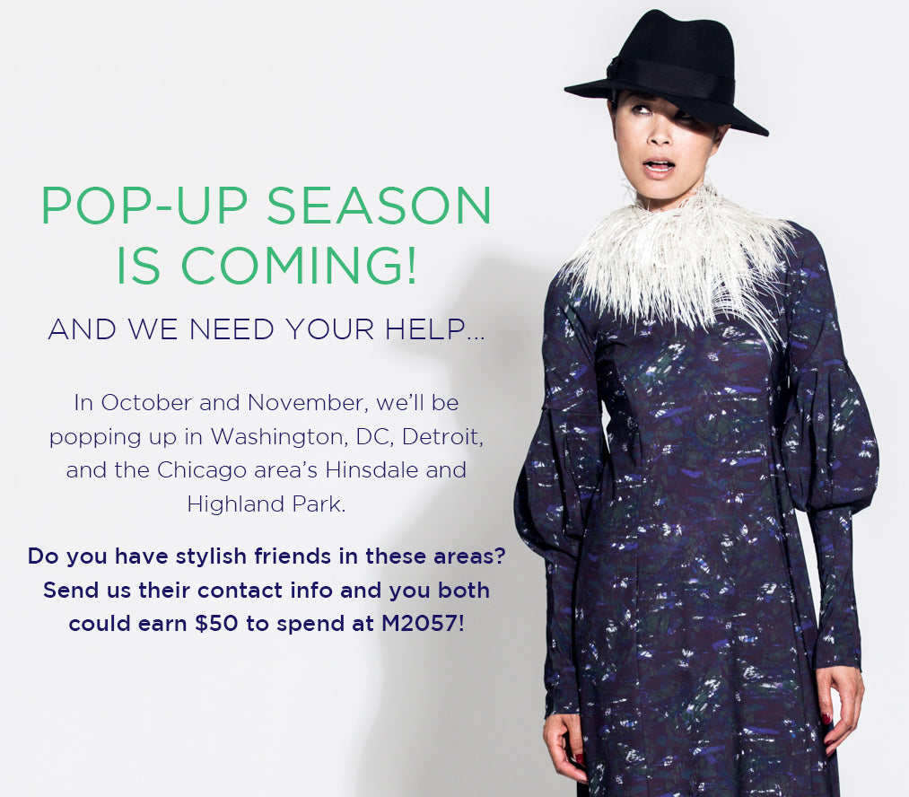 Tell Your Friends about Our Fall Pop-Ups + Earn $50!