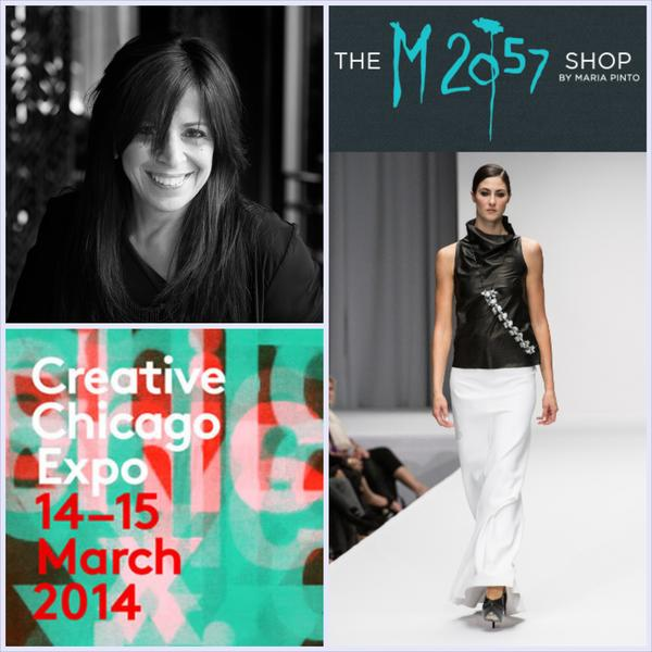 See Maria Pinto at Creative Chicago Expo!