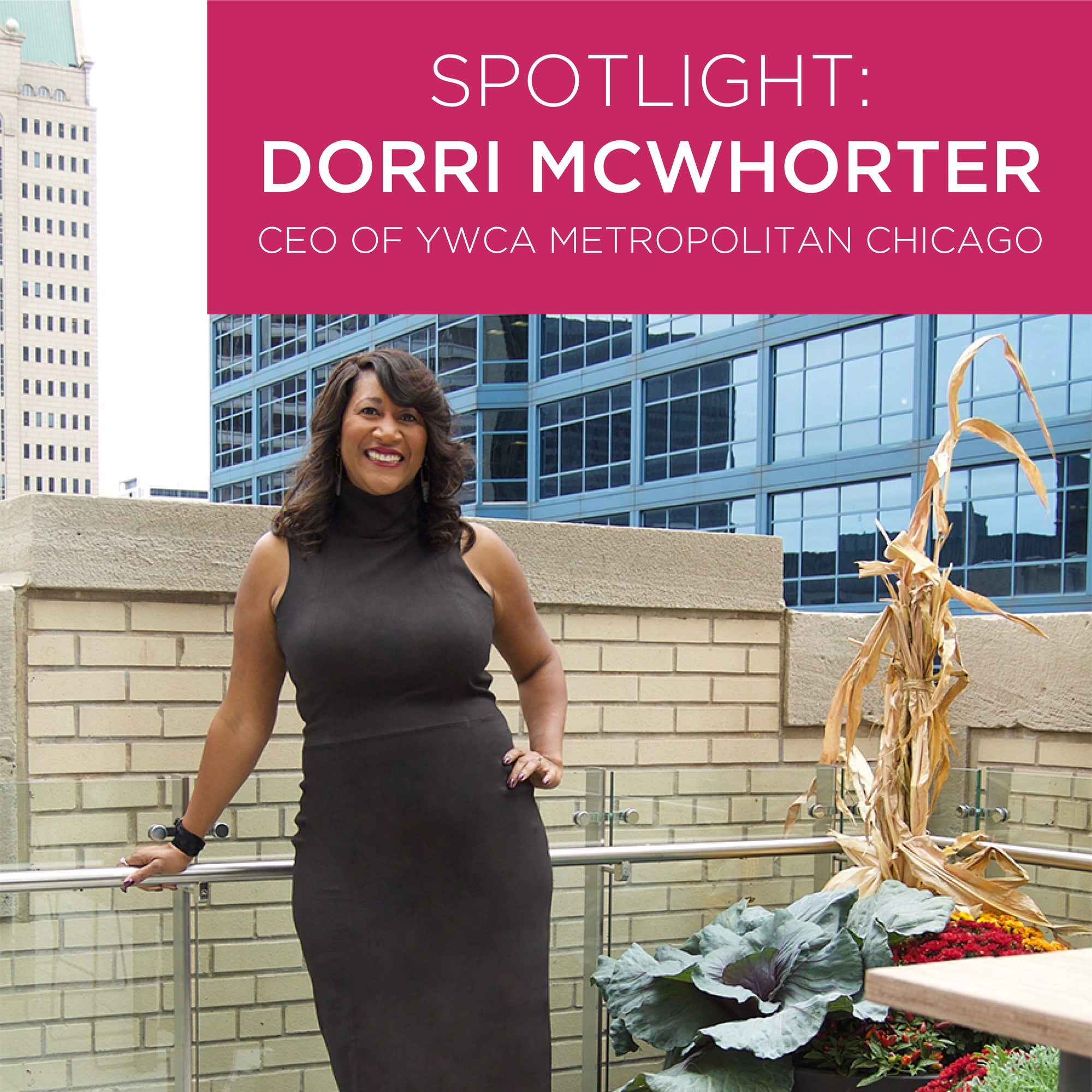 YWCA's Dorri McWhorter Leads with Joy