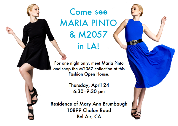 Will You Be in L.A. on April 24? Meet Maria & Shop M2057!