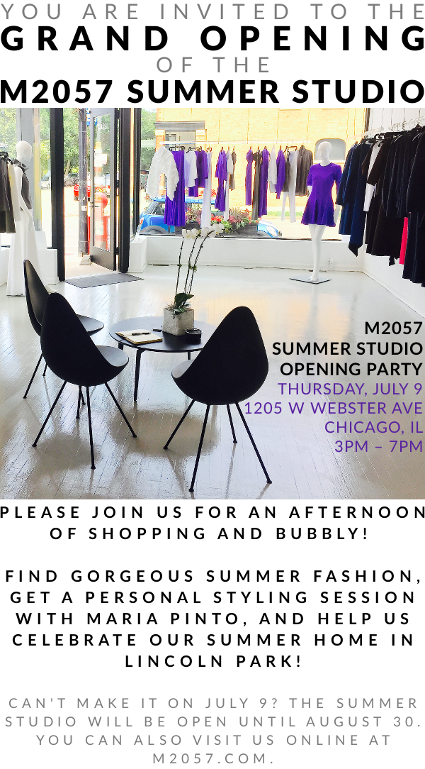 Come to the Grand Opening of the M2057 Summer Studio!