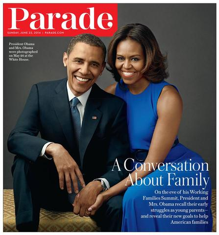 See Michelle Obama in M2057 for Parade Magazine!