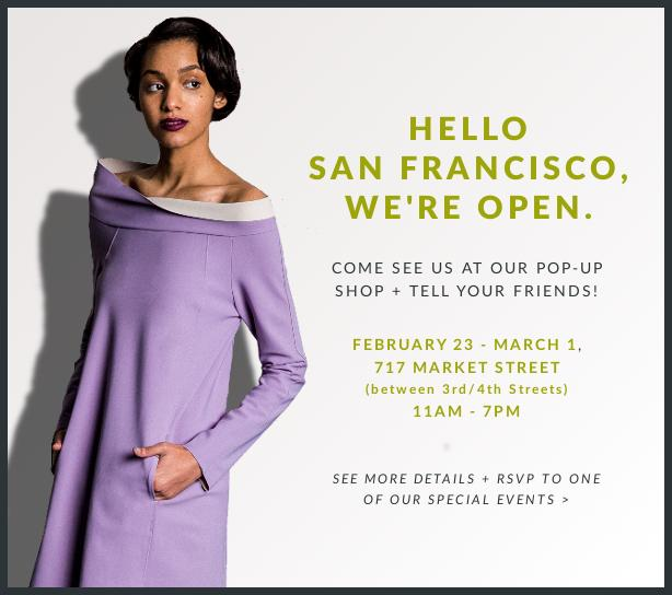 Hello San Francisco, We're Open