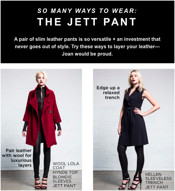 Leather Looks: The Jett Pant