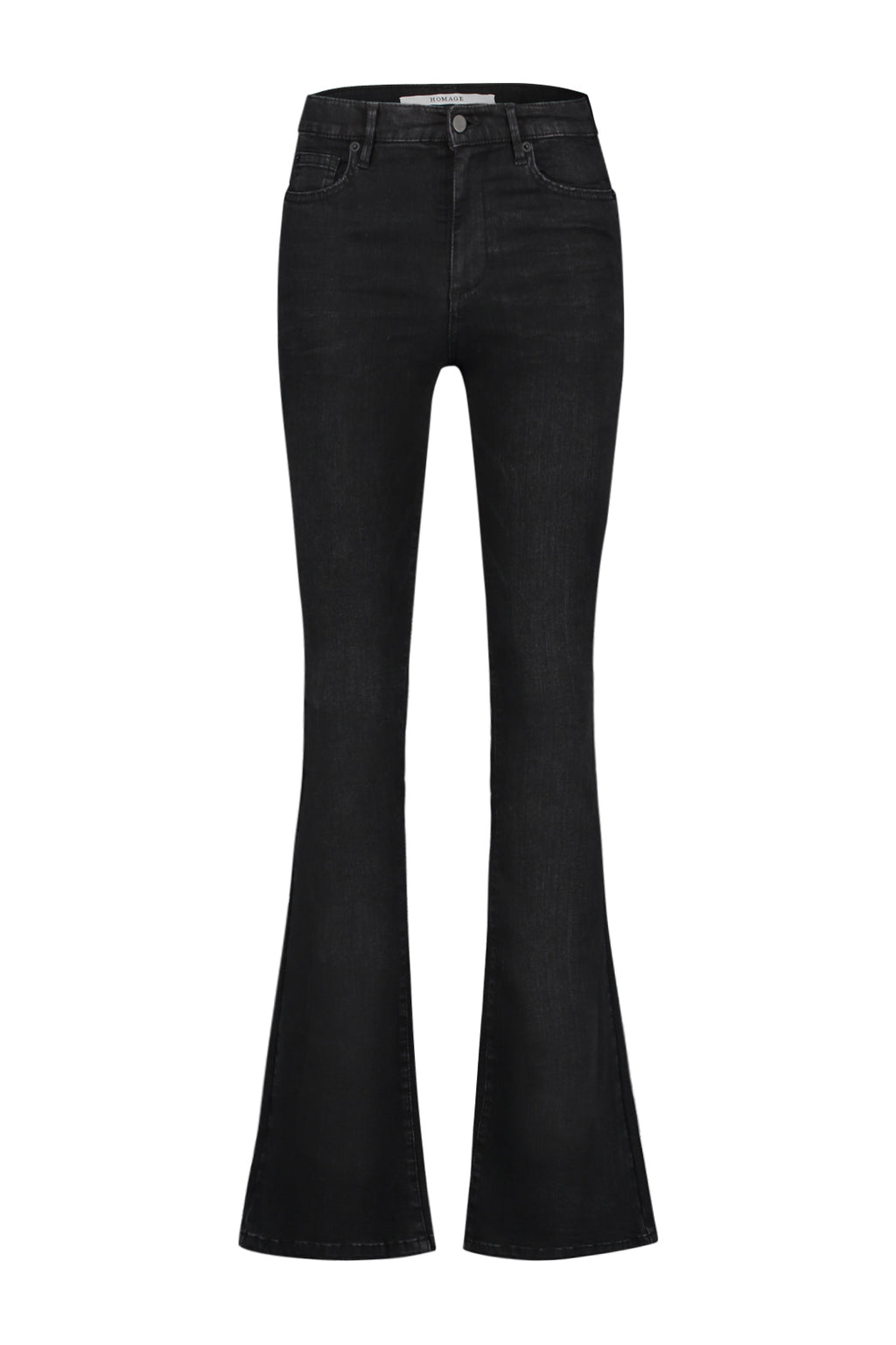 Flared Jeans Black Used