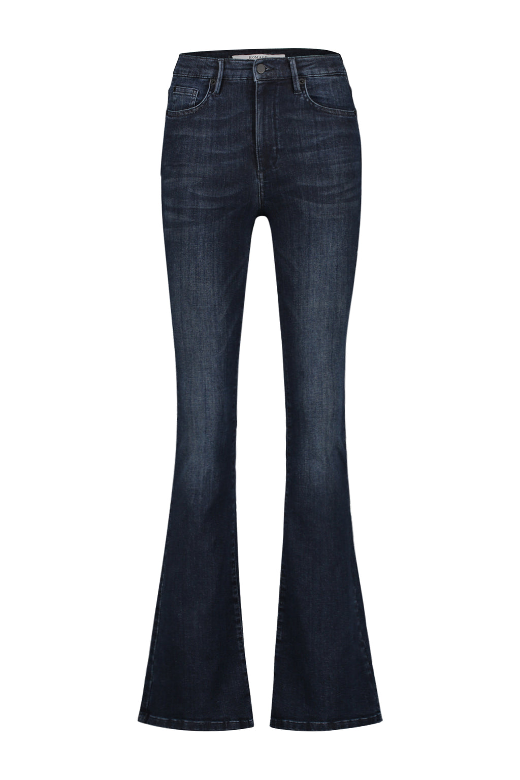Flared Jeans Dark Blue