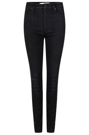 Coated Skinny Motor Jeans