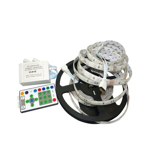 5M 5050 RGB LED Strip set Horse race Chasing Dream Color 54Leds/m5M 5050 RGB LED Strip set Horse race Chasing Dream Color 54Leds/m - SupplyLedStrip