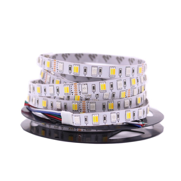 SMD 5050 LED Strip Non-waterproof RGBW/RGBWW -5 Meter - SupplyLedStrip