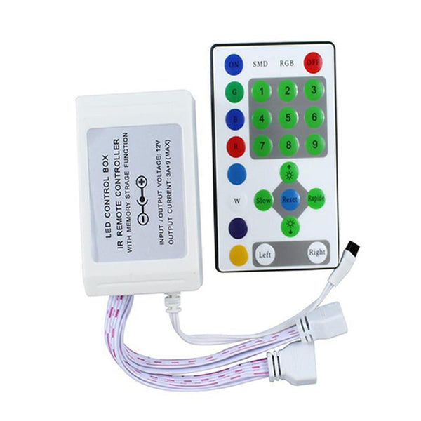 DC12V 25Key Horse racing RGB LED Strip IR Remote Controller - SupplyLedStrip