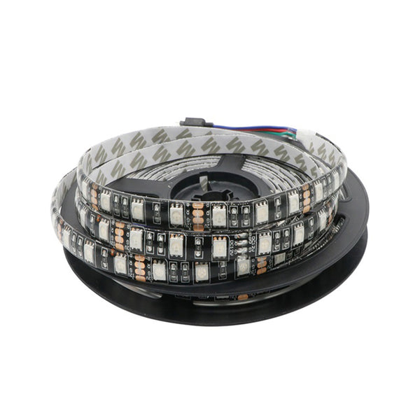 SMD 5050 Black PCB 60Leds/m Waterproof Led Strip - 5 Meter - SupplyLedStrip
