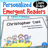 Class Rules Personalized Emergent Readers