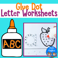 Glue Practice Alphabet Activity