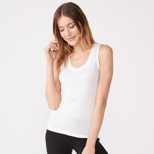COTTON MODAL NARROW TANK