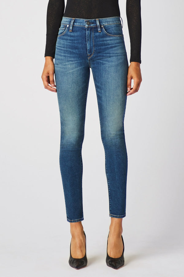 BARBARA HIGH RISE SUPER SKINNY ANKLE