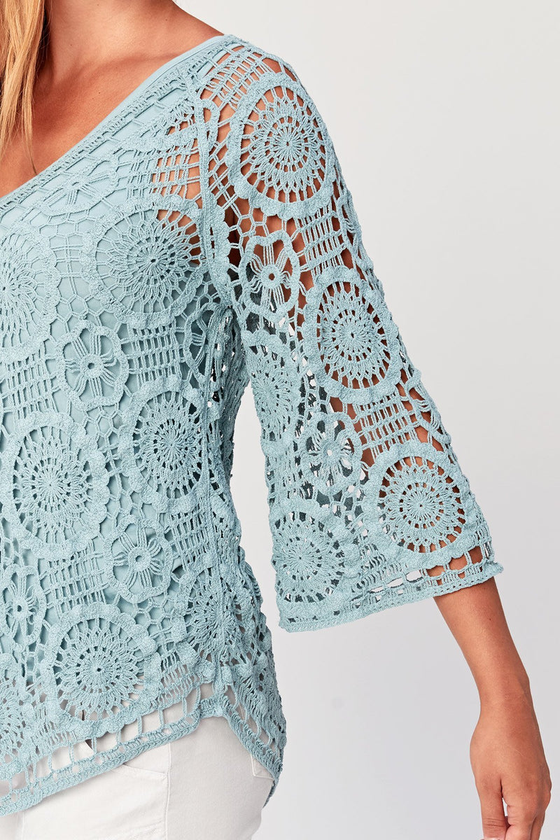 OBERON CROCHET COVER UP